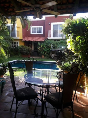 Full house/Air Conditioning, e-Wify and Pool Area - Cancún