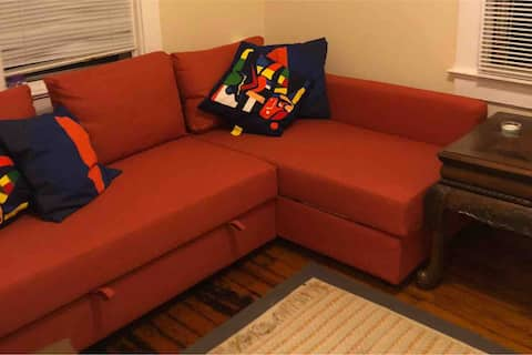 Private Upstairs Apartment Near Rutgers University