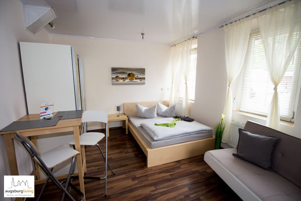Central city apartment apartments for rent in augsburg for Augsburg apartments for rent