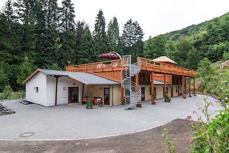 Haus Wildstein Wohnung D2 - Traben-Trarbach - Pis