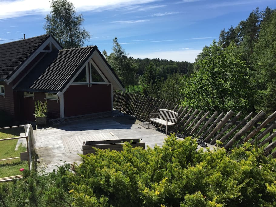 Utsikt fra hytta