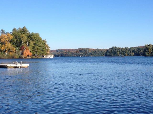 Boathouse on Beautiful Fairy Lake