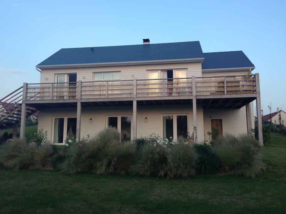 Wood 39 s house maisons louer ambleteuse nord pas de for Maison traditionnelle nord pas de calais