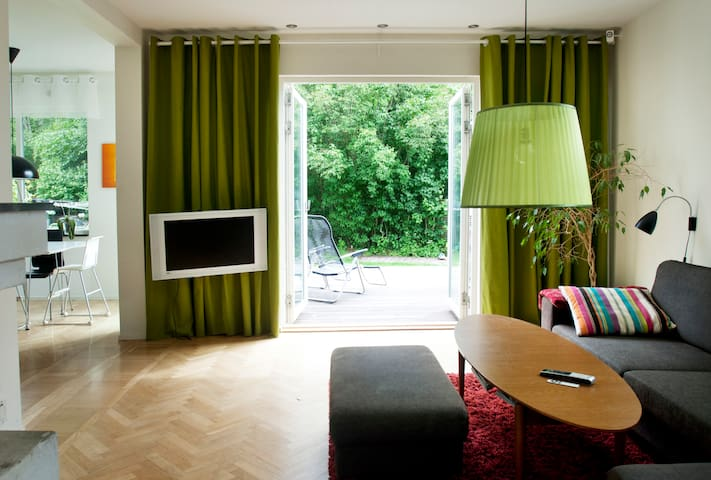 Central family villa - Södertälje - Casa