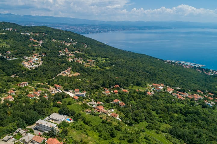 View to the Kvarner Bay
