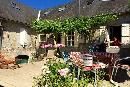 Limes Cottage - Bed & Breakfast - Saint-Julien-Maumont - Inap sarapan