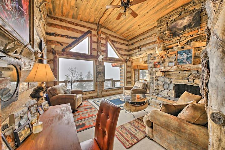 Thompson Falls River-View Retreat w/ Private Deck!