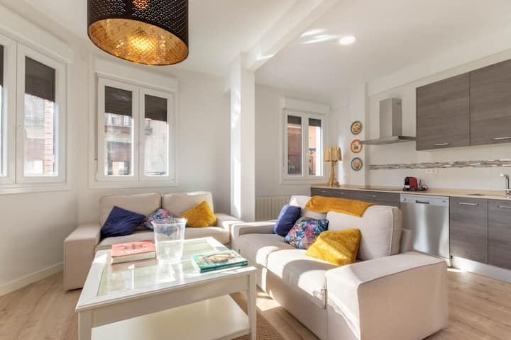 Fabuloso apartamento en Bilbao La Vieja