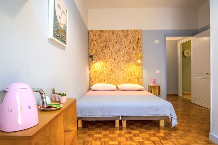 Double Room near Trastevere