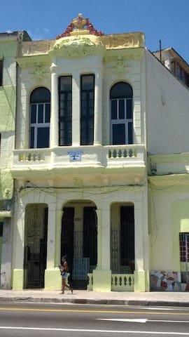 Casa Marina 115 from the Malecon.