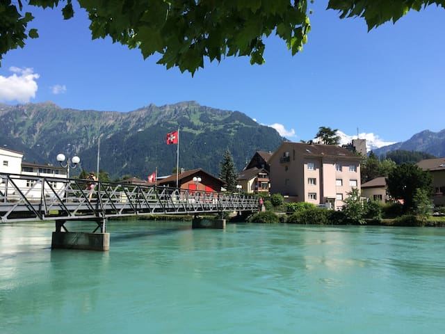 mTs Home-Interlaken Center 2-Room - Interlaken - Huoneisto