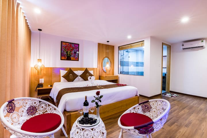 Rooms and Restaurant of Beautiful Sapa Boutique