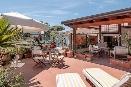 Luxurious flat nearby the seaside - San Felice Circeo - Apartemen
