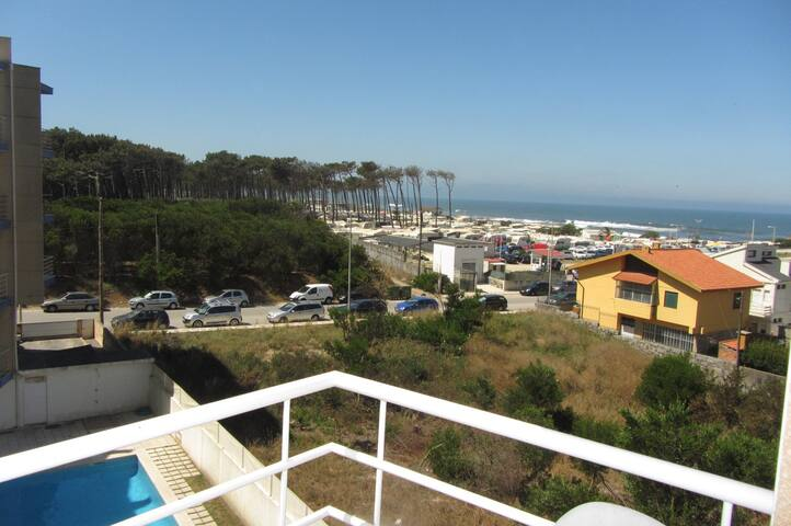 Wi-Fi, SEA & POOL Views beach 100 m - Cortegaça - Wohnung
