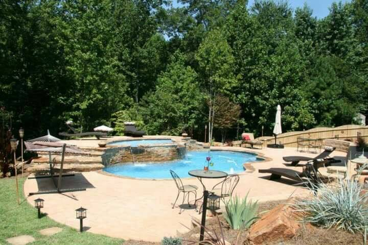 Romantic Private Getaway PoolOasis - Powder Springs - Overig