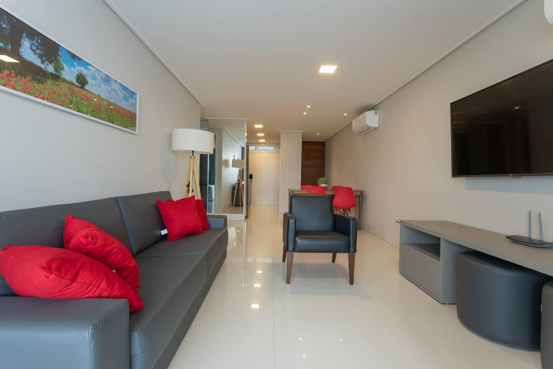 Apartamento dois quartos.