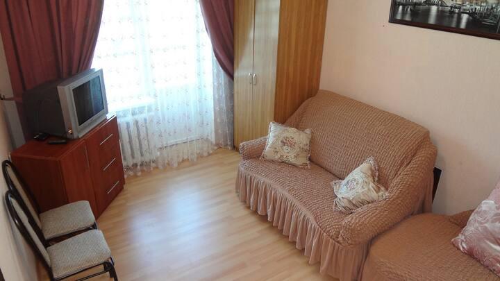 Уютная однокомнатная квартира в центре Кисловодска
