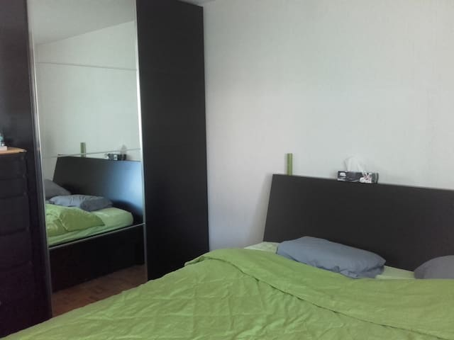 Quiet room close to Lausanne - Bussigny - Daire