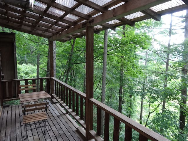 軽井沢、蓼科の中間で両方を楽しめる別荘。山登りの拠点にも。 - Sakuho-machi - Vila