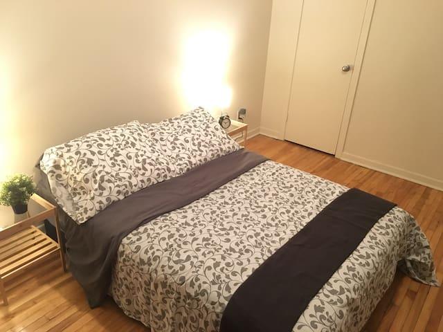 Jolie chambre près de tout à Montréal!