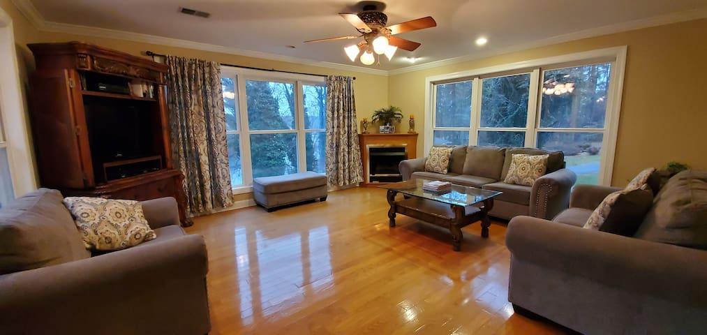 Best By the Bridge: Wifi, Foosball, new wood floor