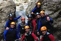 canyoning with me as guid