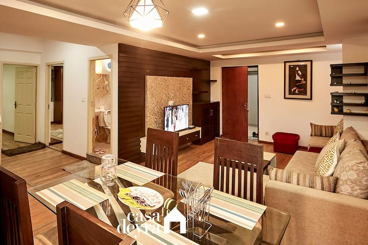 Calm Residence @Patan 2BHK Apartment by Casa Deyra