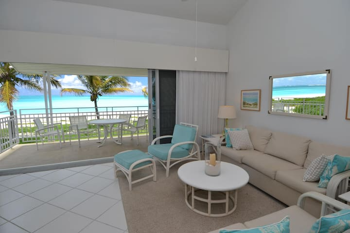 Tranquil condo, 30m from fab beach. - Treasure Cay - Byt