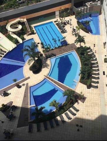 Apartamento 623 Hotel Veredas do Rio Quente Flat