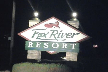 Fox River Resort 1 hour from Chicago, Starved Rock - Sheridan - Wohnung