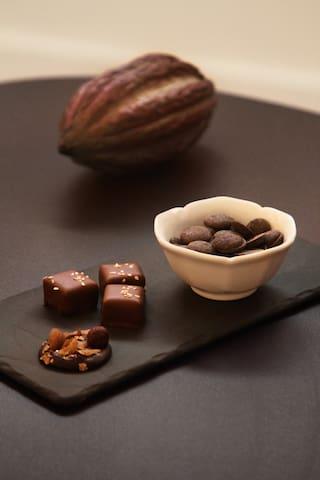 Je vous fais découvrir mes spécialités et partage avec vous ma passion du chocolat - La maison de Karen chocolat , à Limonest dans le Rhône