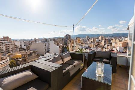 Penthouse. The highest in the City - Palma de Mallorca - Loft