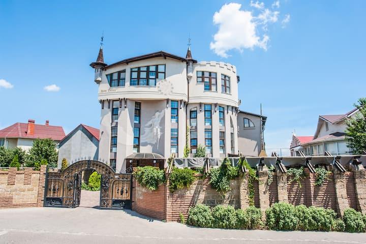 Magic design family villa