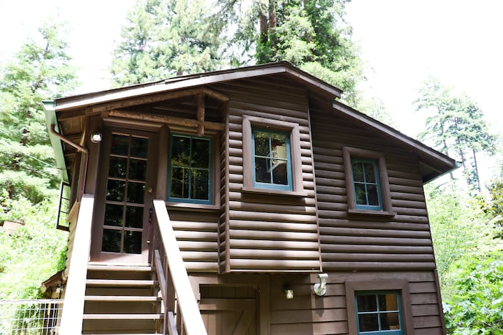 Sawmill: 81 year old cabin - Boulder Creek - Cabana