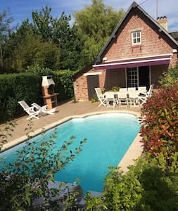 """Normandy style"" house 140m2 with heated pool - Basseneville - Ház"