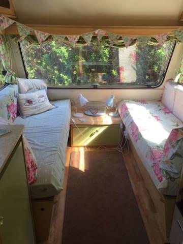 Winnie the caravan