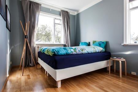 Bright and beautiful prvt. room, close to center! - Reiquiavique - Apartamento