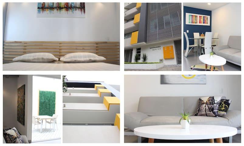 202 Modern & Clean Apt, Laureles/Medellin