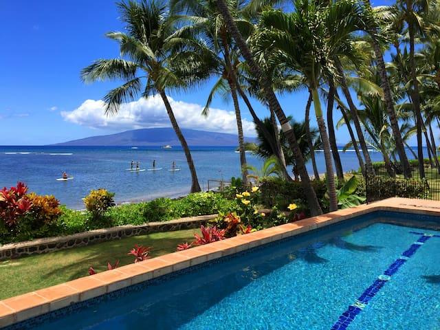 Oceanfront Home in Lahaina Maui - Lahaina - House