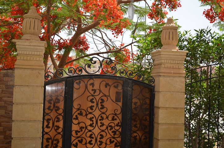 Charming flat in Cairo with garden - Sheikh Zayed City - Apartment