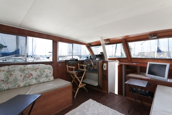 36 ft Double Cabin Boat - San Diego - Bateau