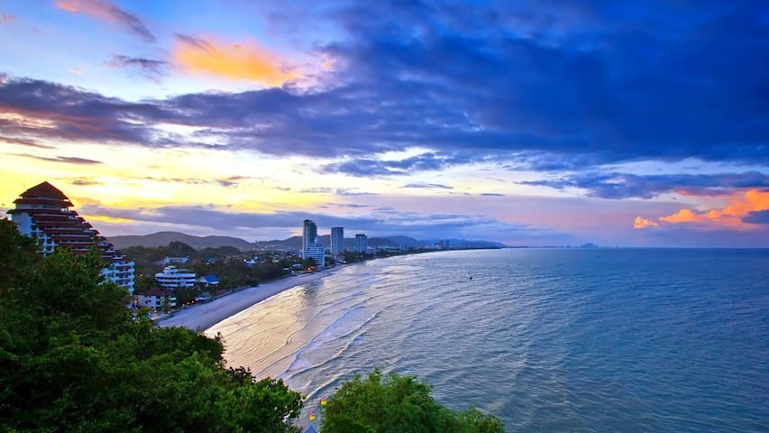 Hua Hin Beach, 2 Bedrooms