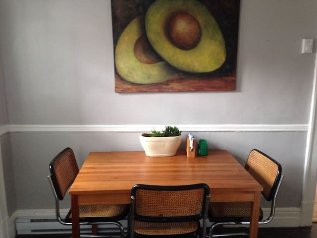 Sunny & cozy apartment in St-Henri - Montreal - Daire