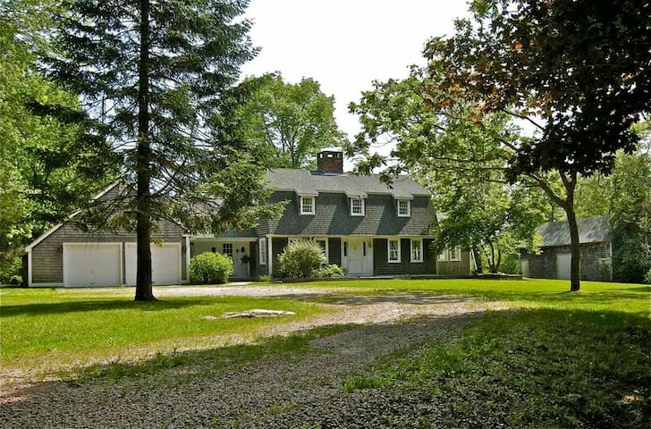 Large estate with pond near beaches - Hopkinton - Talo