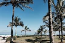 Praia a 200m