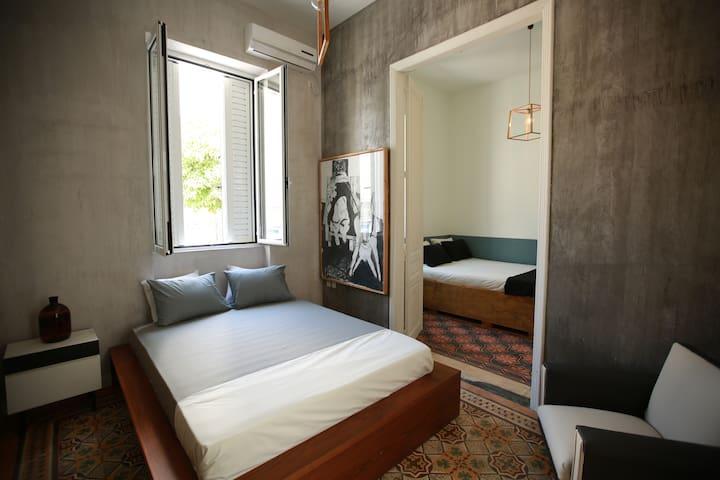 Athenshood city center house-gazi #1 two bdrms - Athina - House