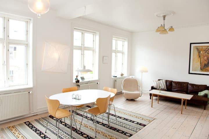 Central Copenhagen Top floor 105m2  - Kopenhagen - Wohnung