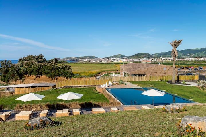 1 Bedroom Villa - Ribeira Grande - ที่พักพร้อมอาหารเช้า