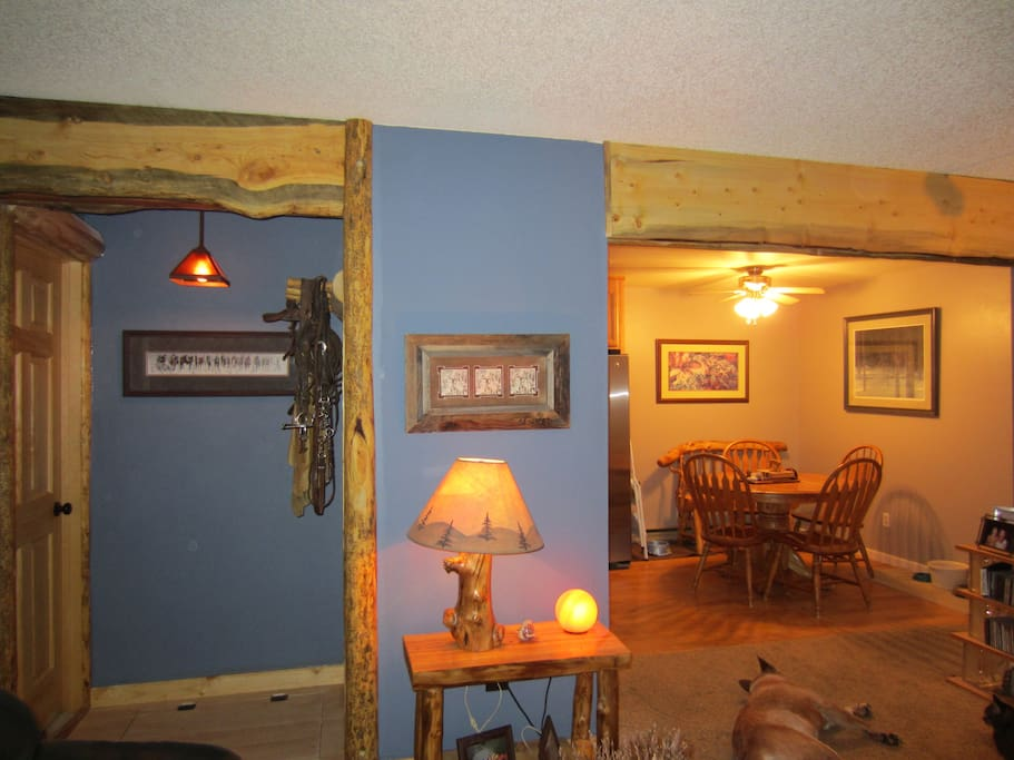 Looking in to dining area.