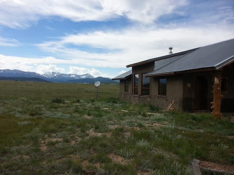 Strawbale and Earthship Compound